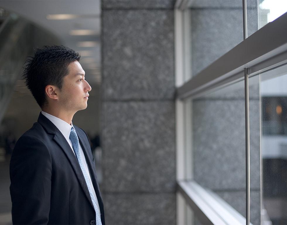 経営理念を軸にした人が育つ組織づくりのイメージ