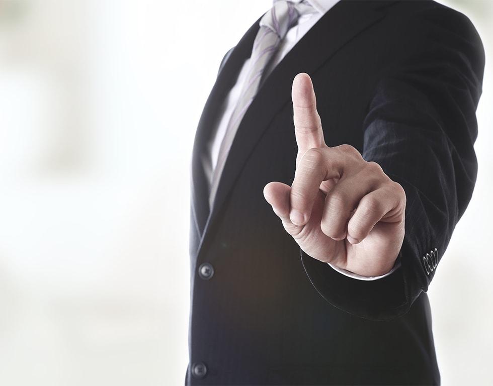経営戦略と関連付けた一気通貫のご支援のイメージ